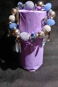 Jewelry - Blues and silver bracelet